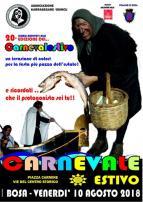 Eventi - Carnevale Estivo 2018  - XX Edizione - Bosa - Oristano