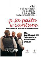 Eventi - A sa palte 'e cantare - Concerto itinerante per le vie di Bosa - Bosa - Oristano