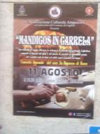 Eventi - Mandigos in Carrela - Cuglieri - Oristano