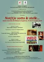 Eventi - Not(t)e Sotto le Stelle... - Santa Caterina di Pittinuri - Cuglieri - Oristano