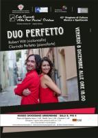 Eventi - Al Museo Diocesano Duo Perfetto con Robert Witt  e Clorinda Perfetto  - Oristano