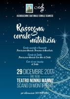 Eventi - Rassegna corale natalizia - Scano Montiferro - Oristano