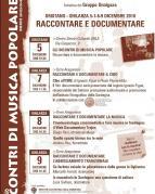 Eventi - Non solo INCONTRI DI MUSICA POPOLARE 2018 (XXXIII edizione) - Ghilarza - Oristano