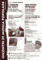 Eventi - Incontri di musica popolare a Ghilarza - Ghilarza - Oristano