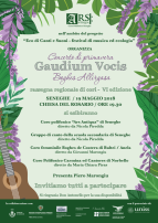 Eventi - Concerto di Primavera - Gaudium Vocis Boghes Allirgasa - Seneghe - Oristano