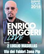 Eventi - Concerto Enrico Ruggeri - Sa Gloriosa 2018 - Masullas - Oristano