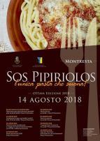 Eventi - Sagra de sos Pipiriolos, la pasta che suona - Edizione 2018 - Montresta - Oristano