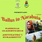 Eventi - Ballus in Narabuia - Seconda edizione - Narbolia - Oristano