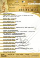 Eventi - Domenica in Concerto - Recital pianistico di Mattia Casu - Oristano
