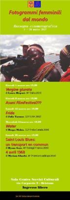 Eventi - Fotogrammi femminili dal mondo - Oristano