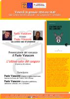 Eventi - Presentazione libro - L'ultimo salto del canguro  di Paolo Vanacore - Oristano