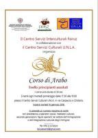 Eventi - Corso di arabo al Centro UNLA - Oristano