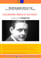Eventi - L'Economia spiegata dai poeti a cura di Gianluigi Sassu - Oristano