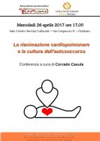 Eventi - La rianimazione cardiopolmonare  e la cultura dell'autosoccorso - Oristano
