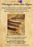 Eventi - Presentazione libro -  Sona Loiginu di Stefano Saderi - Oristano