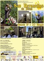 Eventi - Programma San Bernardino da Siena 2017 - Busachi - Oristano