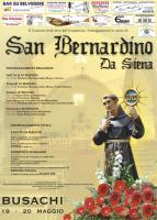 Eventi - San Bernardino da Siena - Busachi - Oristano