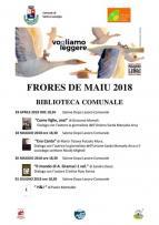 Eventi - Frores de Maiu 2018 - Presentazione libro Il mondo di A.Gramsci di Sandro Dessì - Santu Lussurgiu - Oristano