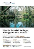 Eventi - Giardini Storici di Sardegna - Passeggiate nella bellezza - San Leonardo de Siete Fuentes - Santu Lussurgiu - Oristano