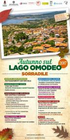 Eventi - Autunno sul Lago Omodeo 2017 - Prozettu de Santa Lughia - Sorradile - Oristano
