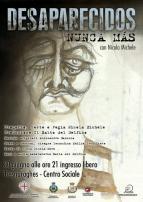 Eventi - Desaparecidos - Nunca Mas - Tresnuraghes - Oristano