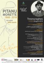 Eventi - Pitanu Morette - 1868 - 2018  - 150 anni dalla nascita - Tresnuraghes - Oristano