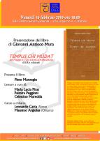Eventi - Presentazione libro - Tempus chi mudat - Bint'annos cun s'amigu Parkinson - Oristano