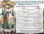 Eventi - Programma 2018 Santa Maria Maddalena - Uras - Oristano