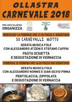 Eventi - Carnevale ad Ollastra 2018 - Ollastra - Oristano