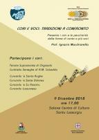 Eventi - Cori e voci: Tradizioni a confronto - Santu Lussurgiu - Oristano